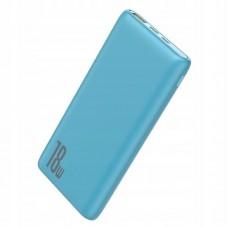 Внешний аккумулятор Baseus Bipow Quick Charge Power Bank PD+QC 10000mAh 18W (PPDML-03) - Blue