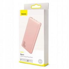 Внешний аккумулятор Baseus Bipow Quick Charge Power Bank PD+QC 10000mAh 18W (PPDML-04) - Pink