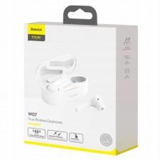 Наушники Baseus беспроводные Encok True Wireless Earphones W07 (NGW07-02) - White