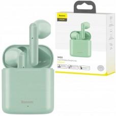 Наушники Baseus беспроводные Encok True Wireless Earphones W09 (NGW09-06) - Green