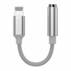 Переходник Baseus iP Male to 3.5mm Female Adapter L3.5 (CALL3-02) - White