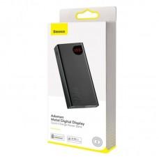 Внешний аккумулятор Baseus Adaman Metal Digital Display Quick Charge Power Bank 22.5W 20000mAh (PPIMDA-A0A) - Tarnish