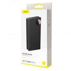 Внешний аккумулятор Baseus Mulight Digital Display Quick Charge Power Bank 45W 20000mAh (PPMY-A01) - Black