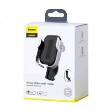 Вело/мото держатель для телефона Baseus Armor Motorcycle holder (Applicable for bicycle) (SUKJA-0S) - Silver
