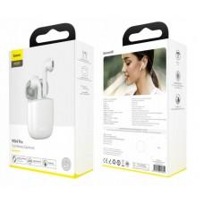 Наушники беспроводные Baseus Encok True Wireless Earphones W04 Pro (NGW04P-02) - White