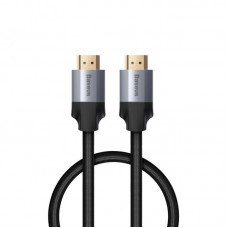 Кабель Baseus Enjoyment Series 4KHD Male To 4KHD Male Adapter Cable 1m (CAKSX-B0G) - Dark gray