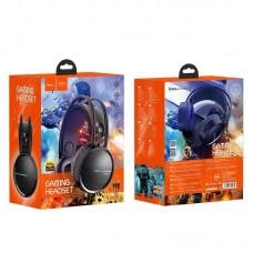 Наушники hoco W100 Touring Gaming Headset - Black
