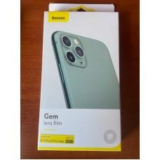 Защитное стекло Baseus Gem Lens film для камеры Iphone 11 Pro/11 Pro Max (SGAPIPH58S-JT02)