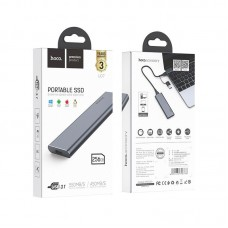 Портативный hoco SSD UD7 Extreme speed USB & Type-C 3.1 Gen2 - 256GB