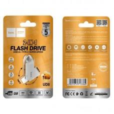 Флеш-накопитель USB / Type-C hoco UD8 Smart 3.0 - 16GB