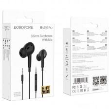 Наушники Borofone Wired earphones BM30 Pro - Black