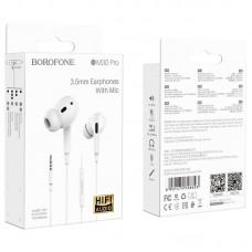 Наушники Borofone Wired earphones BM30 Pro - White
