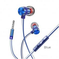 Наушники Borofone Wired earphones BM48 Acoustic - Blue
