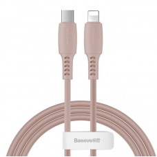 Кабель Baseus Colourful Cable Type-C For iP 18W 1.2m (CATLDC-04) - Pink