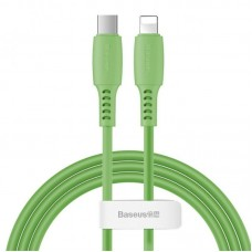 Кабель Baseus Colourful Cable Type-C For iP 18W 1.2m (CATLDC-06) - Green