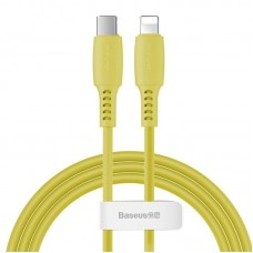 Кабель Baseus Colourful Cable Type-C For iP 18W 1.2m (CATLDC-0Y) - Yellow