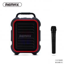Колонка REMAX Song K outdoor portablae Bluetooth Speaker RB-X3 - Black/Red