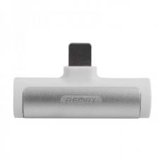 """Аудио-переходник Remax 3.5"""" Type-C + разъем для зарядки RL-LA03a - White"""
