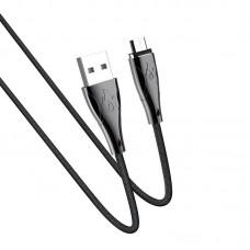Кабель hoco U75 Blaze magnetic charging data cable for Micro - Black