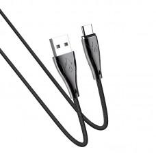 Кабель hoco U75 Blaze magnetic charging data cable for Type-C - Black