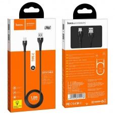 Кабель hoco X45 Surplus charging data cable for Type-C - Black