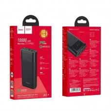 Power Bank hoco J61 Companion fully compatible mobile (10000mAh) - Black