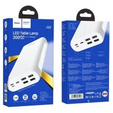Power Bank hoco J60 Snowflake table lamp mobile (30000mAh) - White