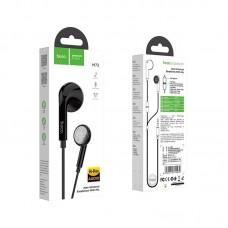 Наушники hoco M73 Joan universal earphones with mic - Black