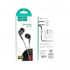 Наушники hoco M71 Inspiring universal earphones with mic - Black