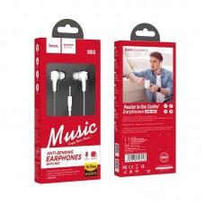 Наушники hoco M66 Passion in-line control eaphones with mic - White