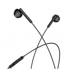 Наушники hoco M65 Special sound Type-C wire control earphones with mic - Black