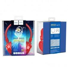 Наушники hoco W25 Promise wireless headphones - Red