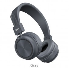 Наушники hoco W25 Promise wireless headphones - Gray