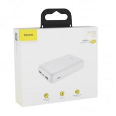 Внешний аккумулятор Baseus Mini JA power bank 10000mAh (PPJAN-A02) - White