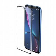 Защитное стекло Baseus full-screen curved tempered glass screen protector (cellular dust prevention) (SGAPIPH61-WA01) для Iphone XR/11 - Black