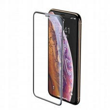 Защитное стекло Baseus full-screen curved tempered glass screen protector (cellular dust prevention) для Iphone XS Max/11 Pro Max (SGAPIPH65-WA01) - Black