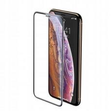 Защитное стекло Baseus full-screen curved tempered glass screen protector (cellular dust prevention) для Iphone X/XS/11 Pro 5.8inch (SGAPIPH58-WA01) - Black