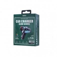 Автомобильное ЗУ REMAX Car Charger kezhi Series RCC230 - Tarnish
