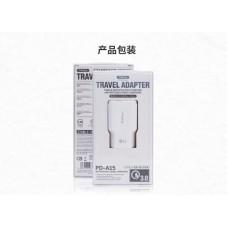 Сетевой адаптер Proda QC3.0 Fast charging Charger PD-A15 (EU) - White