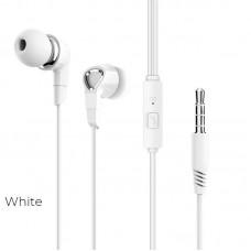 Наушники Borofone BM47 Dream universal earphones with mic - White