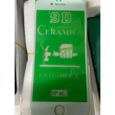 "Защитное стекло ""ceramics anti-shock film"" для Iphone 6/6S - White"