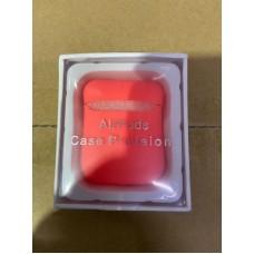 Чехол силиконовый new для AirPods - Коралловый