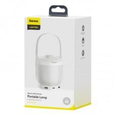 Лампа Baseus Moon-white Series Knob Stepless Dimming Portable Lamp (DGYB-02) - White