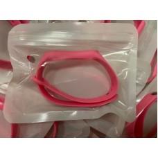 Ремешок Силиконовый для Xiaomi Mi Band 5 - Ярко Розовый