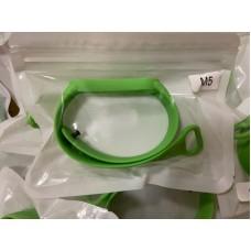 Ремешок Силиконовый для Xiaomi Mi Band 5 - Зеленый