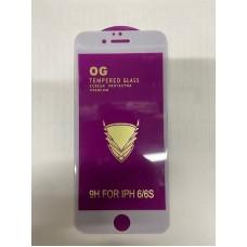 "Защитное стекло ""OG"" для Iphone 6/6s - White"