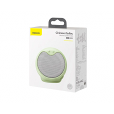 Колонка Baseus Q Chinese Zodiac Wireless Speaker-Snake E06 (NGE06-06) - Green