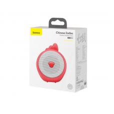 Колонка Baseus Q Chinese Zodiac Wireless Speaker-Chick E06 (NGE06-A09) - Red