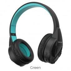 Наушники Borofone BO10 Precious wireless headphones - Green