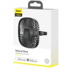 Вентилятор Baseus Natural Wind Magnetic Rear Seat Fan - Black (CXZR-01)